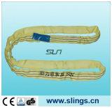 Estilingue redondo da fibra sintética com olhos