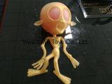 Squish della sfera di compressione del corpo del cranio di orrore
