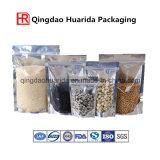 Sachet en plastique assez comique de sac de 100 de micron sachets en plastique avec la tirette pour la poudre de nutrition