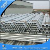 Tubo redondo de acero galvanizado sumergido caliente