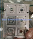 Perfil da extrusão do alumínio 6063 com processamento profundo do CNC