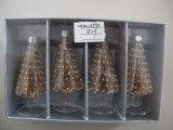 [مولتيكلور] يعلّب عيد ميلاد المسيح زجاجيّة شجرة حلى