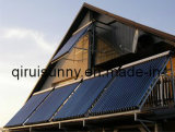 24mm 30 Tube Heat Pipe Vacuum Tube Chauffe-eau solaire Collecteur solaire avec efficacité de collecteur 0.71