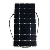 Sunpower 단청 세포 100W 유연한 태양 전지판 실리콘 박편 가격