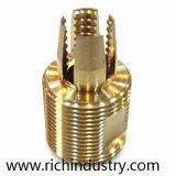 Guarniciones de tubo de aluminio calientes de cobre amarillo de la forja de las instalaciones de tuberías de la forja