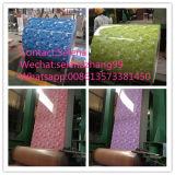 Fabrik des Blumen-hölzerne Steinentwurfs-PPGI/PPGL China/hölzerner Stahlring des Muster-PPGI