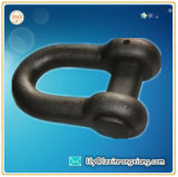 Cast Iron Rigging hardware, CD-Shaped Rigging Shackle