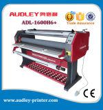 Machine feuilletante de roulis 1600mm chaud de grande taille d'Audley avec le coupeur Adl-1600h6+
