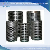 Perforated труба металла как часть фильтра