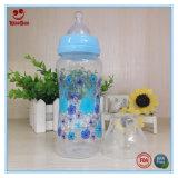 пластичная младенческая бутылка молока 8oz/10oz с печатание