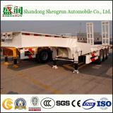Aanhangwagen 3 van de Vrachtwagen van het nut Semi Aanhangwagen van Lowbed van de Aanhangwagen van de Tractor van het Bed van de As de Lage