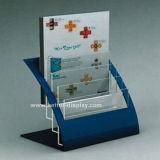 Rechtopstaande reiziger van de Houder van de Brochure van de douane de Acryl (btr-H6006)