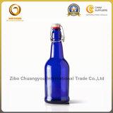 Azul Cobalto 16 oz cristal para bebidas Botella / botellas de cerveza (091)