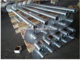 Pila solar galvanizada del tornillo de la fundación de la construcción de la INMERSIÓN caliente