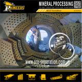 Schermo del crivello a tamburo del timpano della rondella del minerale metallifero della sabbia della strumentazione di estrazione dell'oro