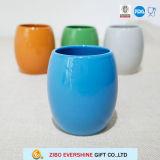 240ml青い陶磁器のエッグカップ