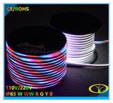 보장 3 년을%s 가진 5050SMD RGB LED 네온 코드