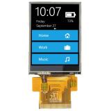 5.6抵抗接触のTFT LCDの表示