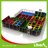 Grande Amusement Equipment Indoor Trampoline Park di 600 Sqm