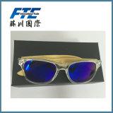 2016 schwarze Metallform-Sonnenbrillen mit kundenspezifischem Firmenzeichen
