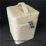 Caixa de jóia Handmade do presente da caixa de armazenamento do plutônio da alta qualidade
