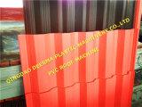 Chaîne de production ondulée de feuille de toiture de PVC