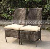 Aus Weiden geflochtenes im Freien speisendes Set Mtc-240 mit Tisch und Stuhl-Garten-Möbeln