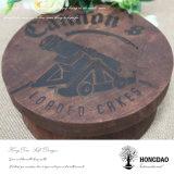 Hongdao paste de Houten Ronde Chocolade Box_C van de Cake van de Pastei van het Koekje van het Voedsel aan