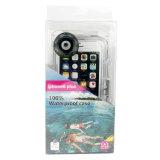 40 mètres sous-marins de plongée professionnelle de cas imperméable à l'eau de téléphone cellulaire pour iPhone6 plus (WP40M-6P)