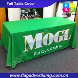 6FT oder 8FT kundenspezifisches bekanntmachendes hitzebeständiges Tisch-Tuch, Tisch-Deckel, TischThrow