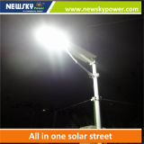 60W LED integró todos en una luz de calle solar con Ce