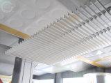 Tuiles décoratives intérieures de plafond d'Alumunum suspendues par couleur en bois, qualité