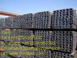 Canaleta em U laminada a alta temperatura do aço de carbono Ss400, aço da canaleta