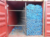 Qualität Factory Price Recommend Thread Hot Dipped Galvanized Pipe mit Blue Caps