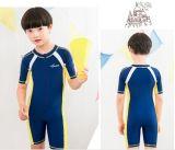 최신 판매 아이 간결 소매 한 조각 수영복 &Color 잠수복