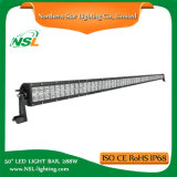 50 pulgadas de 288W LED Light Bar, 25000lm, IP67, Off Road 4x4 de conducción de camiones antiniebla barras de luces