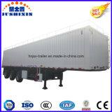 De lading stortgoed van de tri-as 13meter/Aanhangwagen van het Nut van de Vrachtwagen van de Carrier van de Steenkool de Op zwaar werk berekende met Toolbox