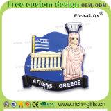 여행자 기념품 냉장고 자석 PVC에 의하여 주문을 받아서 만들어지는 승진 선물 그리스 (RC-GE)