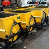 Kfu0.75-6 Balde ferroviário inclinando fábrica de carros de mineração