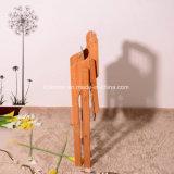 Het Bamboe dat van het Triplex van het bamboe de Stoel van het Bamboe van de Stoel van het Jonge geitje vouwt