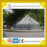 Фонтан воды нот для парка
