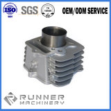 アルミ合金はダイカストシリンダーハウジングの部品CNCの機械化の部品を