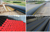 SDR21 0.8MPa HDPE100 Pipe voor Water Supply