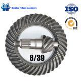 BS0500後車軸の差動歯車機構のラジオ8/39の螺線形の斜めギヤ螺旋形の斜めギヤ