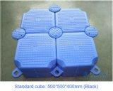 Defensa flotante modular plástica