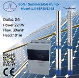 6sp30-23浸水許容の遠心太陽DCポンプ