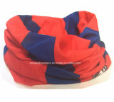 OEM van de Fabriek van China Opbrengst drukte het Aangepaste Embleem Multifunctionele Sjaal Bleekgele af Headwear