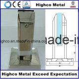 Broche d'acier inoxydable avec la couverture carrée de bride pour la clôture de syndicat de prix ferme