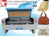 Lederner Nichtmetall-Material-Laser-Stich und Ausschnitt-Maschine