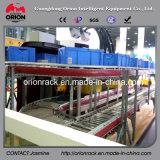 Stahlrollen-Karton-Fluss-Bildschirmanzeige-Regal-Zahnstange